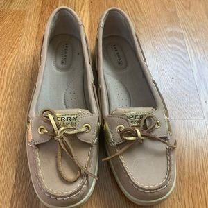 Nude Sperry Boat Shoes